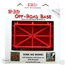 Hi Lift Jack Off Road Base Recovery Accessory