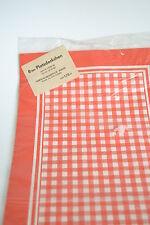 Original DDR Platzdeckchen 8 Stück rot