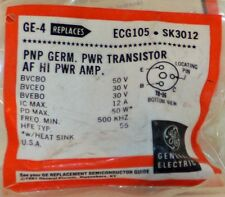 One (1) NOS General Electric GE-4 Germanium PNP Power Transistor