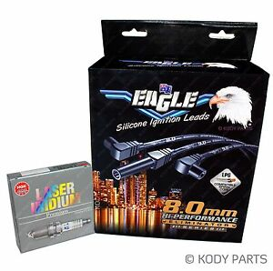 IGNITION LEADS & PLUGS -  Ford Explorer UN UP UQ US 4.0L VZA 97-01 E86623SP