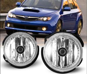 for Subaru Forester Impreza WRX STI 2008-2012 Bumper Fog Light Fog Lamp Bulbs x2