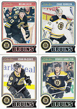 14/15 OPC Boston Bruins 18 card Team Set