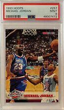 1993 Michael Jordan Hoops #257 PSA 9 MINT ALL-STAR GOAT HOF