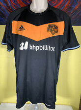 Men's Adidas ClimaCool MLS Houston Dynamo 2016 Away Soccer Jersey Size Large