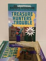 An Unofficial Gamer's Adventure: Treasure Hunters in Trouble : A Minecraft Game…