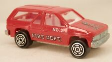 Novacar (Portugal) Nissan Pathfinder/Terrano Red Fire Department SUV 1/64 Scale