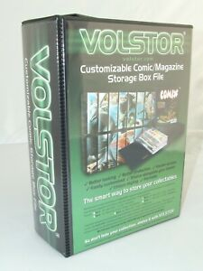 1 x Volstor comic storage boxfile customisable Large size New