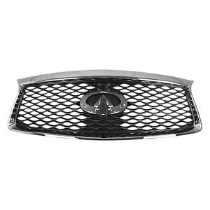 IN1200136 New Replacement Front Grille Fits 2016-2020 Infiniti QX60