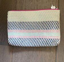 Sisley woven makeup bag/ pencil case