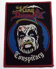 king diamond conspiracy   WOVEN  PATCH