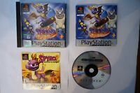 Spyro Year of the Dragon PAL game PSX PS1 Sony Playstation EUR psone 2000 spiel