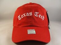 Texas Tech Red Raiders NCAA Vintage Strapback Hat Cap American Needle