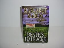 Death's Half Acre by Margaret Maron Hardcover Book Novel
