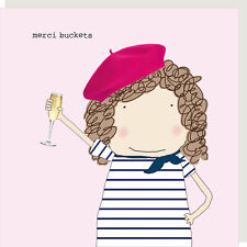 Rosie Made A Thing Merci Buckets Thank You Greeting Card Humour Cards