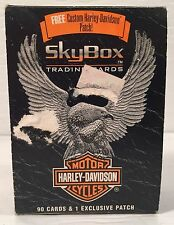 1994 Harley-Davidson SKYBOX 90 Trading Cards Plus US Armed Forces Patch