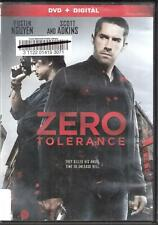 ZERO TOLERANCE. DVD only, no digital copy. Ex-library