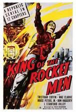 KING OF THE ROCKET MEN Movie POSTER 27x40 Tristram Coffin Mae Clarke I. Stanford