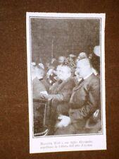 Processo del 1909 Marietta Wolf ed il figlio Alessandro nell'atto d'accusa