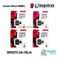 Autentico Kingston 16gb Scheda di Memoria Micro SD per Samsung Tab 4 Sm-t230