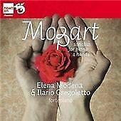 Mozart; Sonatas For Piano 4 Hands, Ilario Gragoletto,Elena Modena, Audio CD, New