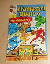 ED.CORNO  SERIE  I FANTASTICI QUATTRO  N°  29  1972   ORIGINALE  !!!!!