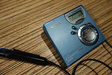 Sony MD n510 net USB LP. MiniDisc MD Player/grabador (29) azul + Remote