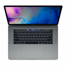 Apple MacBook Pro 15.4 Zoll (512 GB, Intel Core i7 8. Gen. 4.3GHz, 16GB) Space Grau - MR942D/A - mit Touch Bar und Touch ID