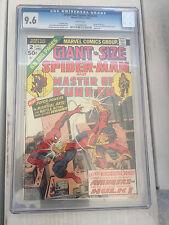Giant Size Spiderman #2 CGC 9.6 Shang Chi Avengers Hulk free shipping