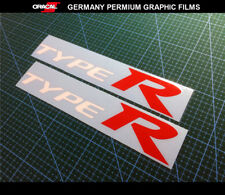 2 Pics TYPE R CIVIC EK EG mugen Vtec VTi Sport JDM Car Decal vinyl Sticker