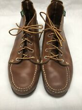 G.H Bass Men's Chukka Boots Brown Leather Lace Up Size 10.5M