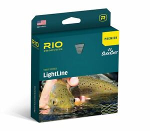 RIO PREMIER LIGHTLINE DT-1-F #1 WEIGHT DOUBLE TAPER FLOATING FLY LINE