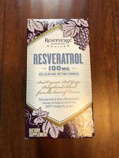 Resveratrol 100mg Reserveage 60 VCaps