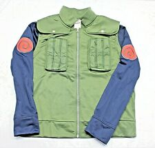 Naruto Shippuden Kakshi Hatake Anime Cosplay Costume Shirt Jacket Top Medium