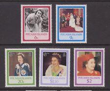 QEII Queen Elizabeth 60th Birthday 1986 MNH Stamp Set Pitcairn Islands
