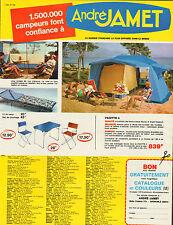 Publicité 1960  ///  André  JAMET