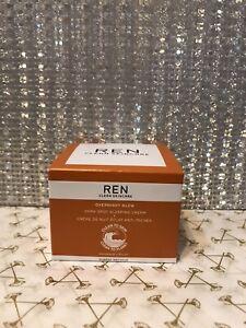 REN Clean Skincare Overnight Glow Dark Spot Sleeping Cream 50ml New and Boxed