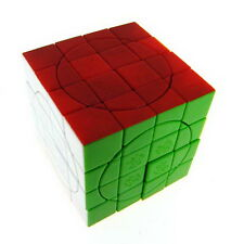 DaYan+MF8 Forever Color No.3 4x4 4x4x4 Crazy Tiled Magic Cube Twist Puzzle Toy