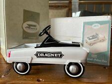 Hallmark Kiddie Car Classics 1956 Dragnet Police Car Peddle