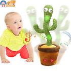 Dancing Cactus Plush Toy Electronic Shake Dancing Singing Succulent Kid Gifts US