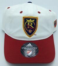 1abc05f2eba MLS Real Salt Lake Adidas Adjustable Back Cap Hat Beanie Style  EX86Z NEW!