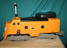 VTG 1969/1970 REMCO Mighty Casey Ride-Em Railroad ENGINE Yellow/Black