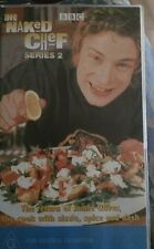 Jamie Oliver VCR Pack Set The Naked Chef x 2 Cooking Video Tv Series 2 BBC
