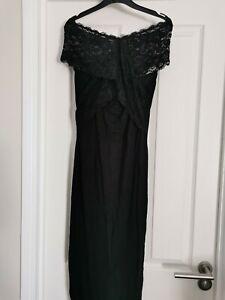 Beautiful Black ASOS Maternity Evening/party Dress - Sz 10