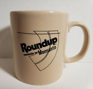 Vintage Roundup Monsanto Coffee Cup Coloroll Advertising Mug Kilncraft England