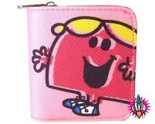 Mr men little miss chatterbox rose filles pièce clip sac à main portefeuille neuf avec étiquettes