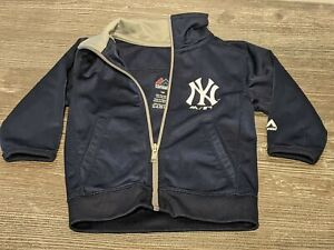 NEW YORK NY YANKEES Majestic MLB Baseball Jacket/Coat Toddler/Baby Boy Size 12M