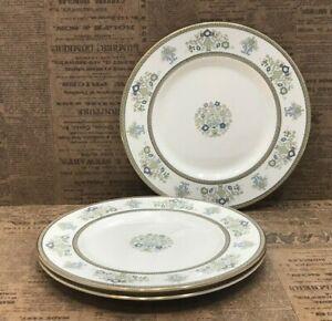 "3 Minton Henley Salad Dessert Plate 8"" Fine Bone China Made In England UK Seven"