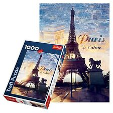 TREFL 1000 pezzi adulto TORRE EIFFEL PARIS GRANDE ALBA VISTA pavimento Puzzle