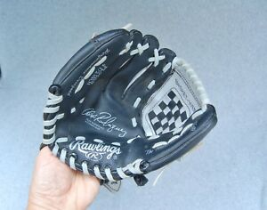 "Alex Rodriguez Autograph Baseball Glove PL95BS Rawlings Black 9 1/2"" LHT Left"