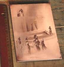 Galvano Kupferklischee Druckplatte Bleisatz Drucken Druck imprimerie letterpress